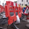 London roads spared roadwork wreckage