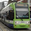 Tram evacuated as branch hits power lines