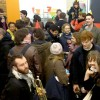Chaos at Goldsmiths building opening