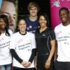Dame Kelly Holmes meets London 2012 Young Leaders