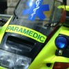 Motorcycle paramedic hurt in crash in Hackney