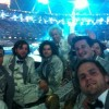 Hackney band play their part in the Olympic Closing Ceremony