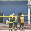 Engines put out rubbish heap fire in New Cross