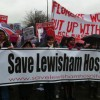 ELL LIVE BLOG: Residents march to save Lewisham Hospital's A&E and maternity units from closure
