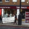 Local residents resist new Sainsbury's in New Cross