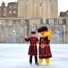 Pudsey bear opens Tower of London ice rink for winter