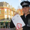 Police use Christmas cards to tackle anti-social behaviour