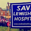 Candle-lit vigil held for Lewisham Hospital