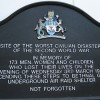 Names of 172 Bethnal Green tube disaster victims remembered in 70th anniversary memorial ceremony