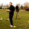 Cameron and Coe join training session at Millwall Rugby Club