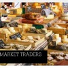 Trainee market traders prepare for business