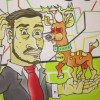 Young illustrators draw on life in capital for show