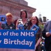 The National Health Service at 65: Lewisham community and hospital cuts campaigners gather to celebrate