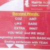 Norwood's Harris Academy school bans slang