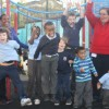 Hackney schoolchildren sing for new playground