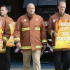 Firefighters across the ELL to strike again over pension cuts