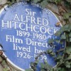 Alfred Hitchcock on Tower Hamlets plaque shortlist