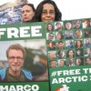 Activists come out in support of the imprisoned Arctic 30
