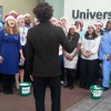 NHS choir perform christmas single at Lewisham Hospital