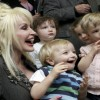 Singer Dolly Parton inspires young readers in Hackney