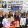 East End anger over GP surgery cuts: 21,000 signature protest petition is handed to 10 Downing Street