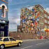 Restoration of iconic Dalston mural complete