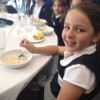 Pupils have breakfast at City Hall with Boris Johnson