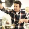 Jamie Oliver teaches parents how to cook