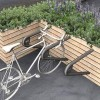New pit-stop for cyclists in gear for installation