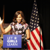 US First Lady Michelle Obama tells Tower Hamlets schoolgirls: education is the path to your success