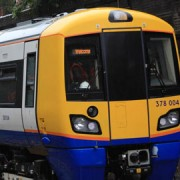 Testing Train on East London Line
