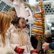 Young children can enjoy the festive cheer. Photo. Ludo des Cognets
