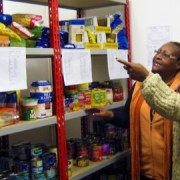 Food bank volunteers. Photo: Adriane Scott-Kemp