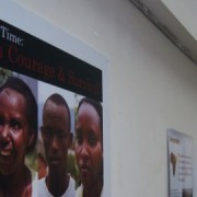 Rwandan genocide exhibition in Hackney.   Photo: Kyriaki Theochari