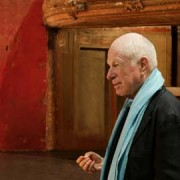 Peter Brook at the Bouffes du Nord in Paris. Photo : Pascal Victor / ArtComArt