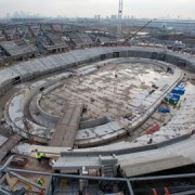 The Velodrome looks set to finish first in the race for completion