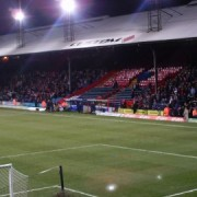 Caption: Home supporters at Selhurst Park roared their team on to victory. Photo: Adam Clarke