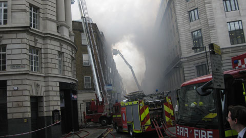 Major Fire Destroys Shoreditch Building Eastlondonlines