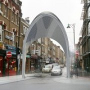 Photo: Artist impression of proposed Hijab Gates