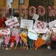 Tributes to murered Hackney teenager Godwin Nii Lawson, photo: Kieron Yates