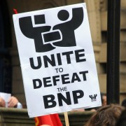 UNITE anti-facist protest. Photo:Flickr Incurable Hippie