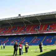 Crystal Palace main stand at Selhurst Park. Photo: Chris Dodd