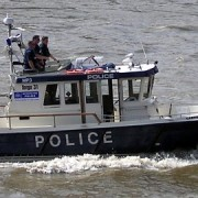 Met Police Marine Support Unit. Photo: Adrian Pingstone