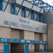 Millwall FC Lion roars. Picture by: Nikki Marra