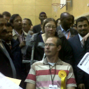 Local election results at Tower Hamlets. Photo: Rosalynn Ghubril