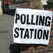 Polling station, West Norwood Photo: Christopher Dodd
