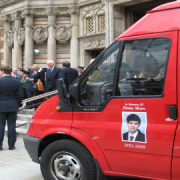 Jimmy Mizen Foundation bus  Photo:  Tine Hvidsten