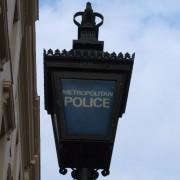 Met Police Lamp. Photo: Tim Crook