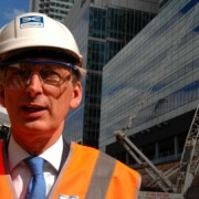 Philip Hammond visits the Crossrail site. Photo: James Reid Photography/Crossrail