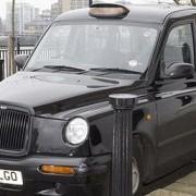 Worboys' black cab. Photo: Metropolitan Police